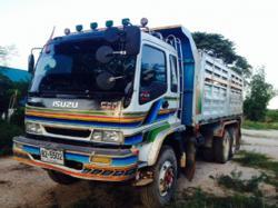 รถบรรทุก 10 ล้อดั๊มพ์  ยี่ห้อ ISUZU DECA ยูโร2  270 แรงม้า  ปี2548