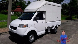 ปี2011 Suzuki Carry Pickup เบนซินและLPG 1600cc  Mini tuck