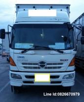 ขายรถ6ล้อตู้ 10 บาน HINO ( พร้อมวิ่งงานกับบริษัทได้เลย)สนใจโทร.082-6670979