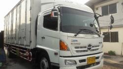 ขายรถ6ล้อตู้สิบบาน HINO FG8JRLA ปี2013 เครื่อง212แรงม้า ตู้ยาว 7.50เมตร