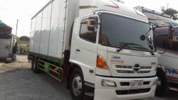 ขายรถ6ล้อตู้สิบบานHINO FG8JRLA ปี2013 เครื่อง 212แรงม้า ตู้ยาว 7.50เมตร รถสวยสภา