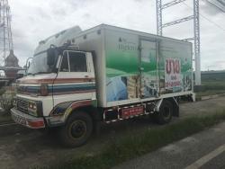 ขายรถตู้บรรทุก 6 ล้อ HINO KM505   สภาพดี (ต่อตู้อู่ซุ่นชัย)