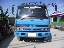 รถบรรทุก 6 ล้อ ISUZU 168 แรงม้า