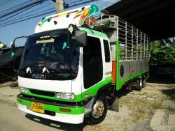 ขายรถบรรทุก 6 ล้อ ISUZU DECA แค๊ป 210 แรง 6 สูบ ปี 55(2012) ยาว5.5ม.
