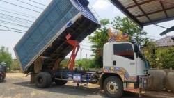 ขายรถ6ล้อดั้ม ISUZU FTR ปี2012 เครื่อง240แรงม้า กระบะดั้มยาว6เมตร