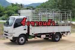 ขายหกล้อ HINO 150 แรงม้า ปี56 รถห้างแท้