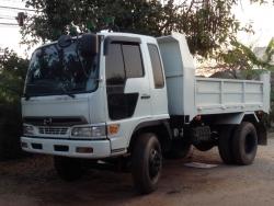 ขายด่วนรถดัมพ์HINOเครื่องJO8260แรงม้ายาง900ราคาคุยกันได้