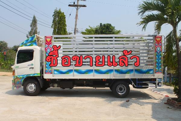 ขาย HINO meca 175 แรงม้า ปี58 รถบ้านมือเดียวไม่เคยชน กระบะอะลูมิเนียมยาว 5.60