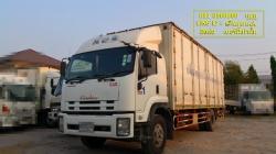 ISUZU FTR240 6ล้อมือสองตู้สิบบาน ยาว 7.6เมตร พร้อมใช้งาน