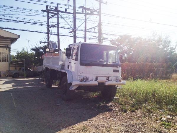ขายรถบรรทุก 4 ล้อใหญ่ DAF 4WD สภาพดีพร้อมใช้งาน 091-9536635