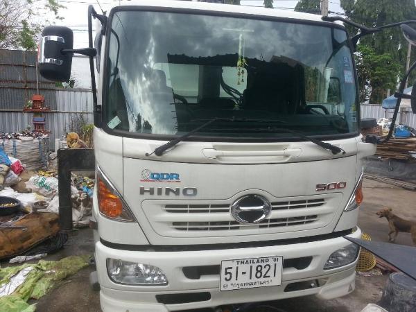 รถ 6 ล้อ Hino รุ่น FC9JJKa พร้อมอุปกรณ์เครน(มือจักรกล 2 ตัน)