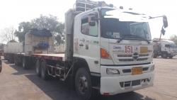 ขายรถบรรทุกพ่วงพื้นเรียบ HINO ซีรี่ย 500 344 แรงม้า