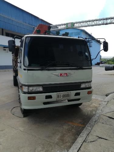 ขายรถกระบะทุก (มีเครื่องทุ่นแรง) ยี่ห้อรถ Hino รุ่น FL3HTLA-10379 สีเทา แรงม้า 3