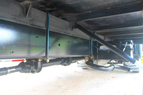 ขาย HINO mega 175 ปี57 รถบ้านมือเดียวออกศูนย์ กระบะยาว 6.6 เมตร ยางเรเดียล รถสีเ
