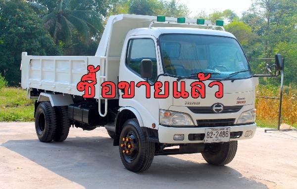 ขายหกล้อดัมพ์ HINO xzu 150 แรง ปี57 รถบ้านมือเดียวไม่เคยชนหัวสีเดิมบาง