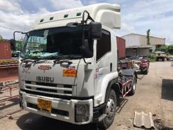 รถบรรทุก ISUZU FTR240 2เพลาพร้อมหางก้างปลา2เพลา รถปี 2555
