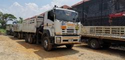 ขายรถบรรทุกพ่วง ISUZU FXZ360 ติดเฮี๊ยบปากคีบ  จดทะเบียนปี2557 (2014) รถบริษ
