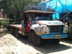 รถบรรทุกisuzuหัวยาว ติดระบบNGV