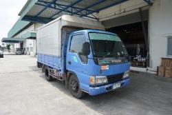 ขาย  ISUZU NKR รถบรรทุก 4 ล้อ ปี2010  รถมือเดียว