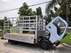 ขายรถบ้านสวยพร้อมใช้NKR71 120แรง รถห้างแท้ปี44 กระบะเป็นคานเหล็กปูด้วยไม้